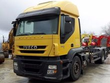 2008 Iveco 260S42 Roll-off Truc