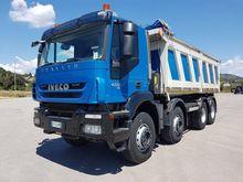 2008 Iveco Trakker 450 Dump Tru