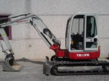 2002 Takeuchi TB53FR Mini Excav