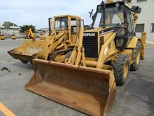 1993 Caterpillar 428 B Rigid Ba