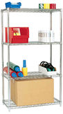 Chrome Plated Wire Shelving Uni
