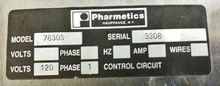 Pharmetics Autoclave Model 7830