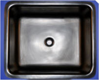 Single Bowl Polyolefin Sink, 21