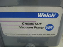 Welsh Chemstar Vacuum Pump 1402