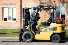 Used Gas forklift Ca