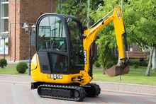 Diesel mini excavator JCB 8016