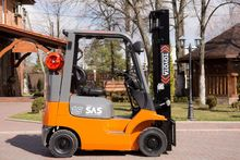 Used Gas forklift TO
