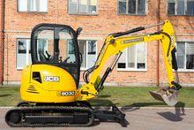 Mini excavator JCB 8030