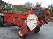 1985 JF AV 50 Manure spreader