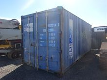 20 Foot Shipping Container, Ste