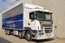 8/2010 Scania R-380 Lb 8x2 Furn