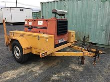 Trailer mounted Lincoln Welder