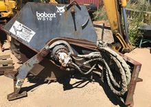 Bobcat WS18 rock saw, suit skid