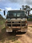 1989 Isuzu FVR Flatbed Truck (N