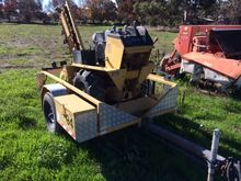 Ditch Witch Self Propelled Tren