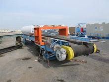 Belt conveyor with motor, 3 pha