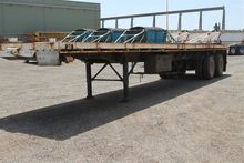 Used Dual Axle Flat