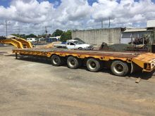Lusty Allison Low Loader Traile