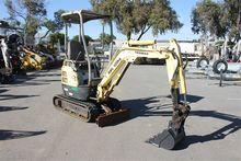 Yanmar 1.6 Tonne Mini Excavator