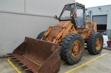 Case Industrial Wheel Loader Mo