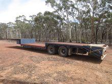 Freighter Double Drop Deck Bogi