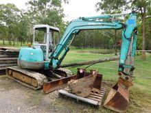 Excavator Mini, Kobelco M/N: SK