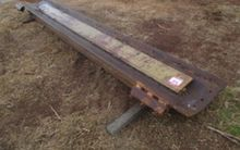 Grader mouldboard, approx 12ft,