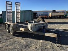 Heavy Duty tandem axle Plant Tr