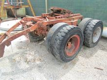 Tow behind dolly twin axle, tyr