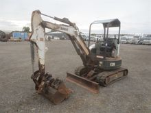 Mini Excavator, Bobcat, E26EM,
