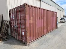 1 x 20 foot shipping container