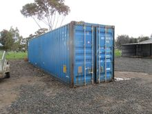 1 x 40 Foot Shipping Container,
