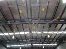 Large factory ceiling fan, appr