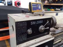 STEELMASTER lathe SM2080 with d