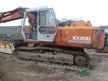 HITACHI Ex 200 excavator, MFG N
