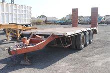 Used Tri Axle Flat D