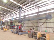 Method Arc welding boom manipul