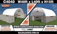 Unused 40ft Container Shelter