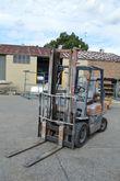 Forklift, Toyota 25, model: 5FG