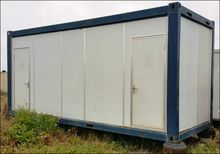 20 foot portable building, 2 be