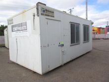 Portable Skid Mounted Site Hut