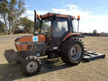 Case 4230 tractor with slasher