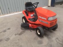 Kubota T1560 Auto Throttle Ride