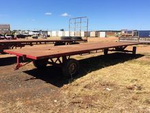 10m Hay Trailer f/w: Steel Tray