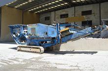 MOBILE crushing plant, Terex Pe