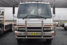 1998 MITSUBISHI FM657 Crane Tru