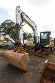 2010 BOBCAT E80 HX 122, Excavat