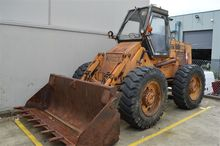 CASE W8E Industrial Wheel Loade
