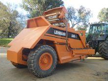 LEHMANN 849 scraper Serial no:8