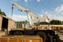 "MOBILE 120T. Crane, Cozes ""Hydr"